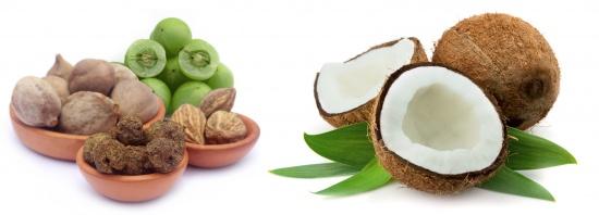 трипхала и кокос